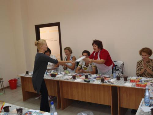 Мастер-класс в Волгограде (сентябрь 2011)