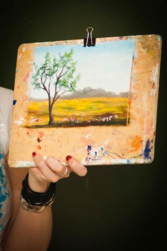 Мастер-классы по живописи маслом в Томске (август 2014)