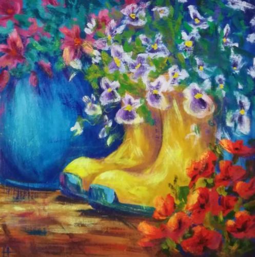 Цветы повсюду