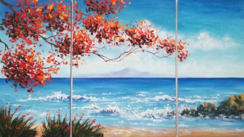 Морской пейзаж (триптих)