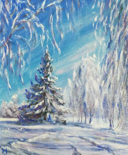 Солнечный зимний день