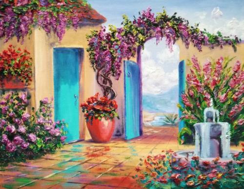 Cvetishiy dvorik