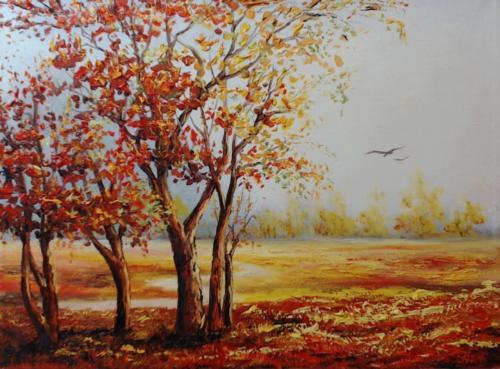 Рыжая осень