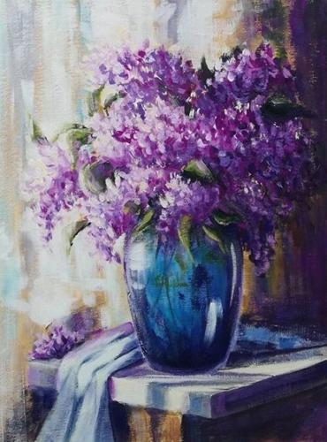 Vaza s cvetami